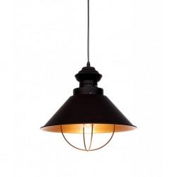 Lampa wisząca LOFT LDP 11535-4(BK) czarna LUMINA DECO