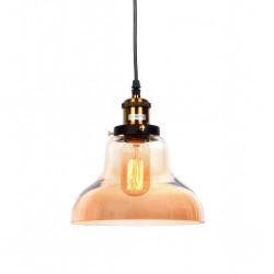 Lampa wisząca KUGAR LDP 7930-1(BK) czarna LUMINA DECO