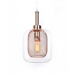 Lampa wisząca BAGSY LDP 7933-1(WT) biała LUMINA DECO