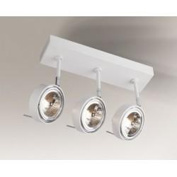 Lampa plafon FUSSA 2219 biała SHILO