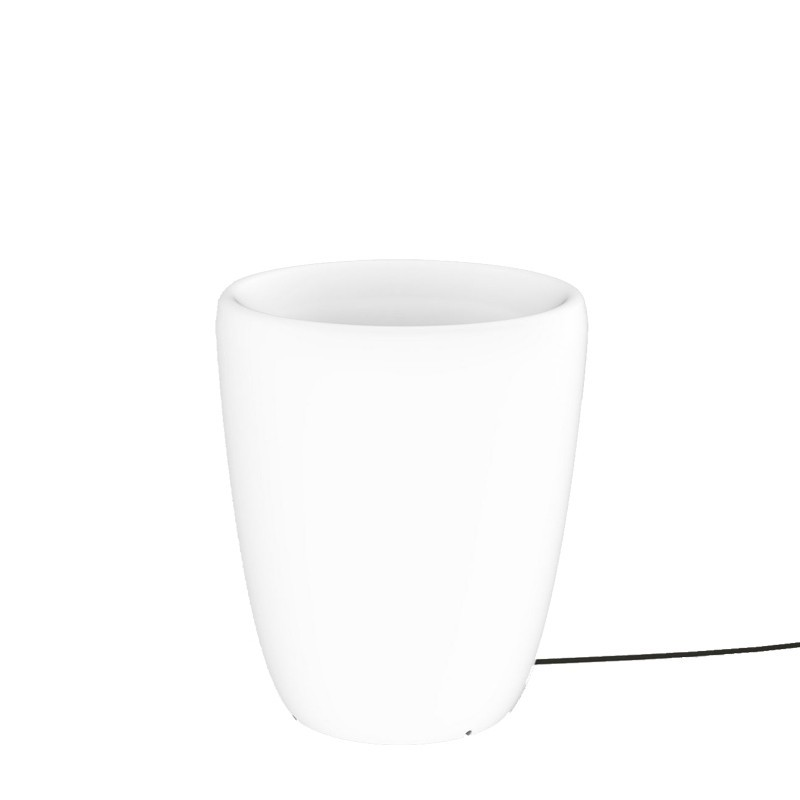 Lampa stojąca FLOWERPOT 9711 biały NOWODVORSKI
