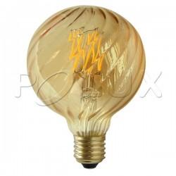 Żarówka dekoracyjna LED VINTAGE AMBER 308894 G95 E27 4W SANICO