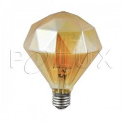 Żarówka dekoracyjna LED VINTAGE AMBER 308887 G100 E27 4W SANICO