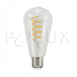 Żarówka dekoracyjna LED EDIDECO 308917 G95 E27 4W SANICO