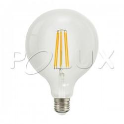 Żarówka dekoracyjna LED FILAMENT 308580 G95 E27 7W SANICO