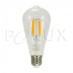 Żarówka dekoracyjna LED FILAMENT 308924 G80 E27 7W SANICO