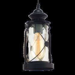 Lampa latarnia wisząca 49213 Vintage EGLO