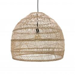 Lampa wisząca w stylu balijskim boho VOL5015 wiklinowa HK LIVING