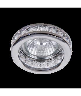 Oczka halogenowe SPOT FASHION chrom-szkło-kryształ 1159 RABALUX