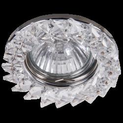 Oczka halogenowe SPOT FASHION chrom-szkło-kryształ, ozdobne 1160 RABALUX