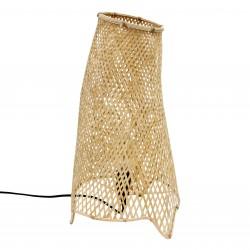 Lampa stołowa VOL5017 bambusowa HK LIVING