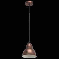 Lampa wisząca 49235 Vintage EGLO