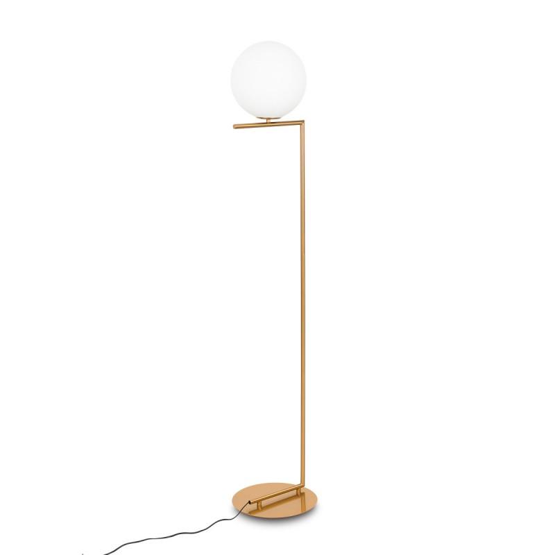 Lampa wisząca MONDO MDE649/1 mosiężna ITALUX