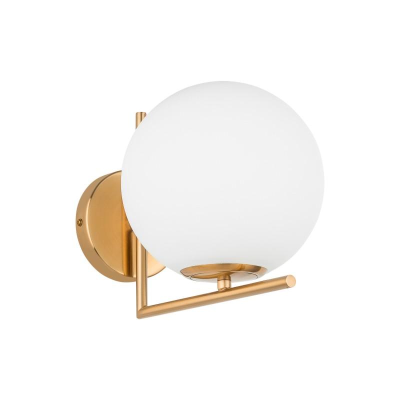 Lampa stołowa MONDO MTE2104/1 mosiężna ITALUX