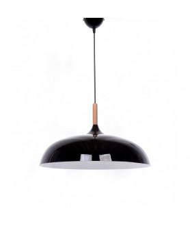 Lampa wisząca NOWOCZESNA LDP 7899 ( BK ) czarna LUMINA DECO