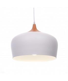 Lampa wisząca NOWOCZESNA 7918 - 350 ( WT ) biała LUMINA DECO