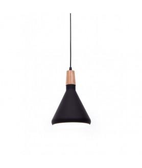 Lampa wisząca BAFIDO LDP LDP 7754 - A ( BK ) czarny mat LUMINA DECO