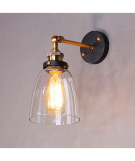 Lampa kinkiet FABI LDW 6800 przezroczysta LUMINA DECO