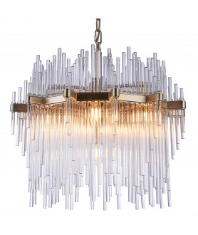 Lampa wisząca REYKJAVIK P07097CP szampański COSMO LIGHT