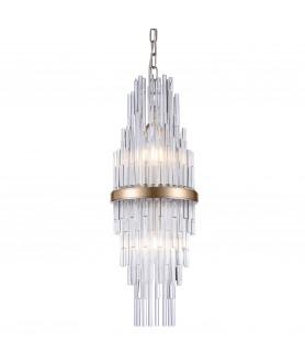 Lampa wisząca REYKJAVIK P02080CP szampański COSMO LIGHT