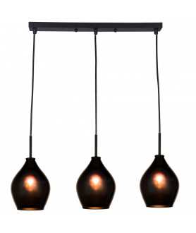 Lampa wisząca KUALA LUMPUR P03571BK czarny COSMO LIGHT
