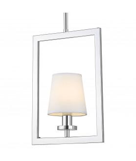 Lampa wisząca LONDON P01007WH biały/chrom COSMO LIGHT