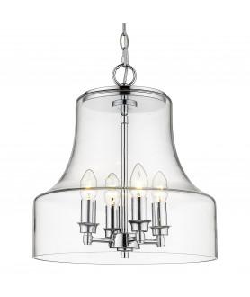 Lampa wisząca PRAGUE P04458CH chrom COSMO LIGHT