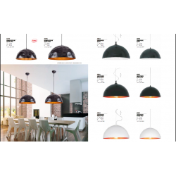 Lampa wisząca HEMISPHERE black-white L 4843 NOWODVORSKI