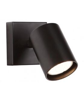 Lampa kinkiet TOP 1 W0219 czarna MAX LIGHT