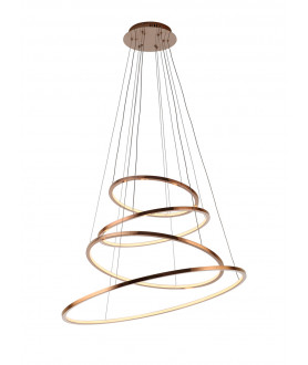 Lampa plafon PUCCINI C0127 przeźroczysta MAX LIGHT