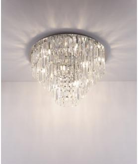 Lampa wisząca MONACO P0259 przezroczysta MAX LIGHT