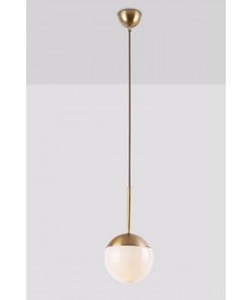 Lampa kinkiet DALLAS W0207 złota MAX LIGHT