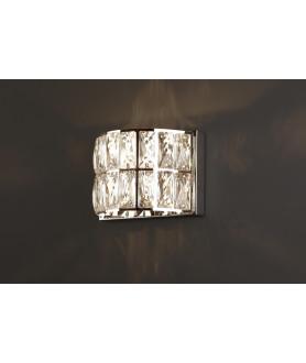 Lampa kinkiet VERONA W0206 biała MAX LIGHT