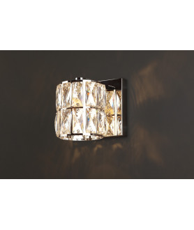 Lampa kinkiet DIAMANTE II W0204 chrom MAX LIGHT