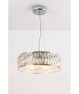 Lampa wisząca DIAMANTE P0238 chrom MAX LIGHT