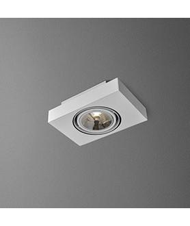 Lampa plafon SLEEK 111x2 46613-03 biała AQUAFORM