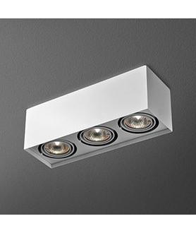 Lampa plafon SLEEK 111x1 46612-03 biała AQUAFORM