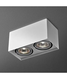 Lampa plafon SQUARES 50x3 230V 46011-03 biała AQUAFORM