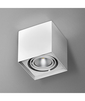 Lampa plafon SQUARES 50x1 45911-02 czarna AQUAFORM