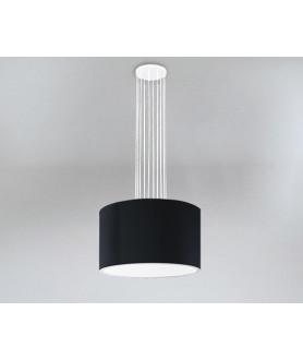 Lampa wisząca IHI 9042 czarna SHILO