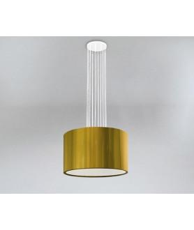 Lampa wisząca IHI 9042 czarno złota SHILO