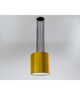 Lampa wisząca IHI 9043 biało złota SHILO