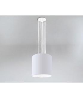 Lampa wisząca IHI 9043 biała SHILO