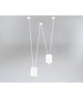 Lampa wisząca VIWIN 9021czarna SHILO