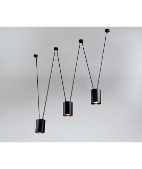Lampa wisząca VIWIN 9022 szara SHILO