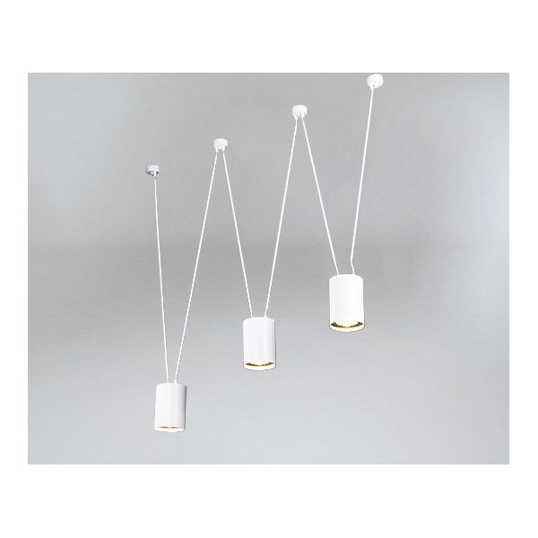 Lampa wisząca VIWIN 9022 biała SHILO Cudne lampy
