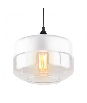 Lampa wisząca MANHATTAN CHIC LA053/P_white biały ATLAVOLA