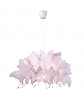 Lampa wisząca FARFALLA LP-3439/1P biała LIGHT PRESTIGE