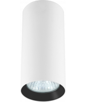 Lampa plafon MANACOR LP-232/1D - 130 biały/czarny 13 cm LIGHT PRESTIGE