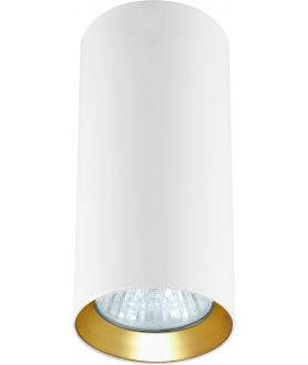 Lampa plafon MANACOR LP-232/1D - 170 biały/czarny 17 cm LIGHT PRESTIGE